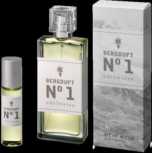 art of scent - Bergduft No1. Edelweiss Atomizer