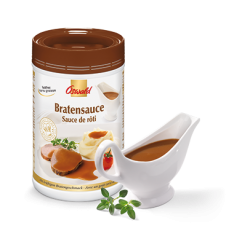 "Oswald - Roast Sauce ""Bratensauce"" Fat-free (215 g)"