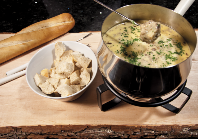 Art of Fondue - Cheese Fondue 'Steinpilze' (600 g) ***Pre-Order Item***