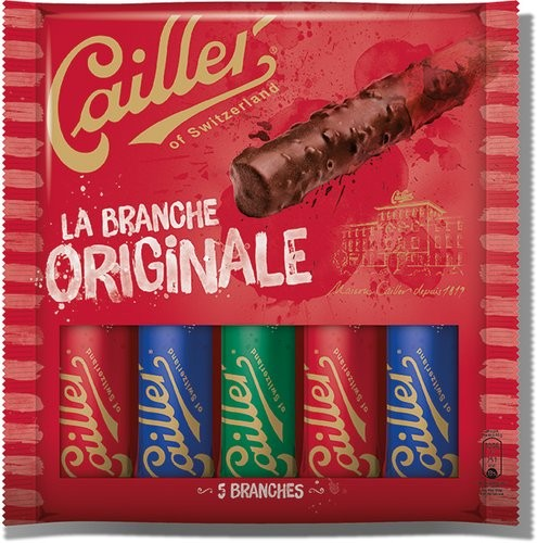 Cailler - Branches Originales Chocolates (5 x 23 g)