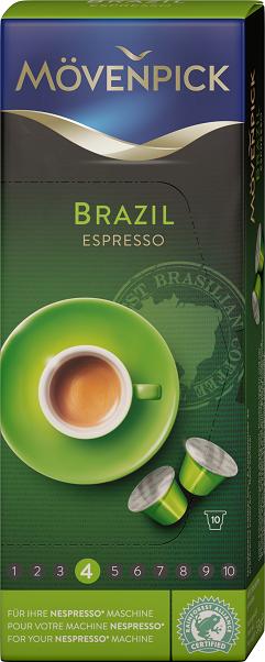 "Mövenpick - Single Origin Capsules ""Brazil"" (10 Capsules)"