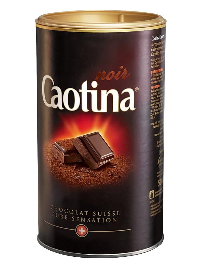 Caotina - Noir Swiss Milk Chocolate Drink (500 g powder)