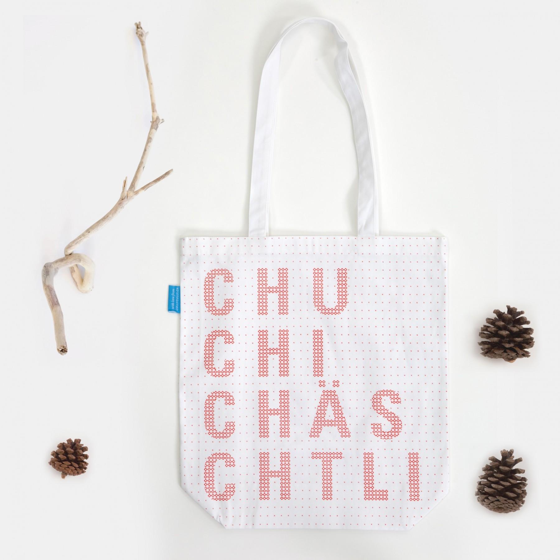 """cullycully - Tote Bag """"Chuchichästli"""""""