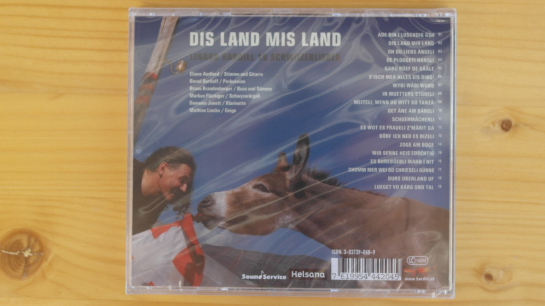 Mis Land Dis Land, Linard Bardill - Swiss Music CD