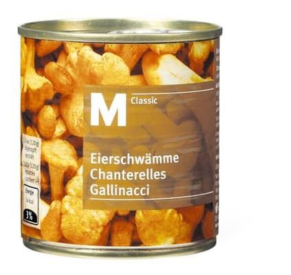 Eierschwämme Chanterelles (120 g)