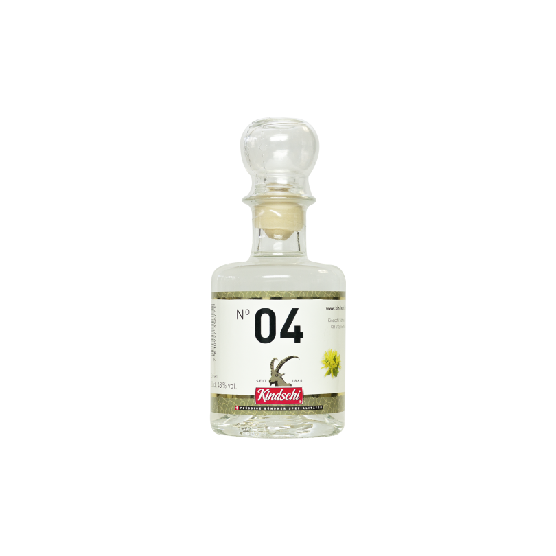 Kindschi - Mountain Yellow Enzian Schnapps (20 CL)