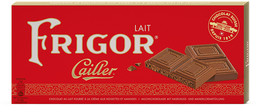 Cailler - Frigor Chocolate Bar (100 g)