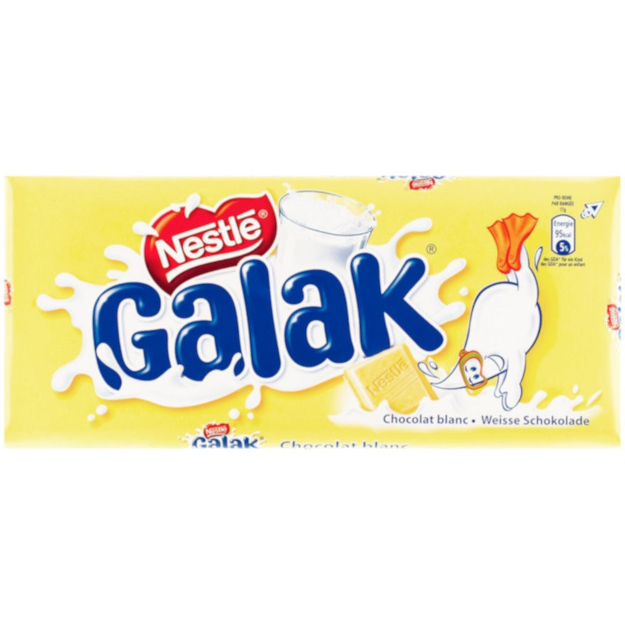 Cailler Galak - White Chocolate Bar (100 g)