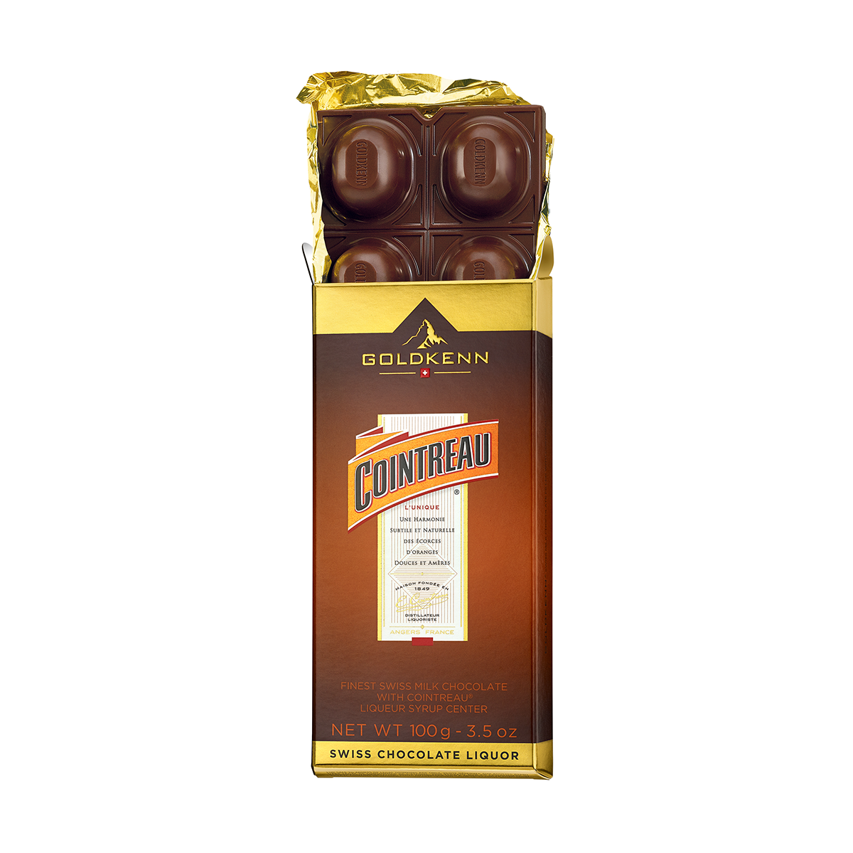 Goldkenn - Cointreau Liqueur Filled Chocolate (100 G)