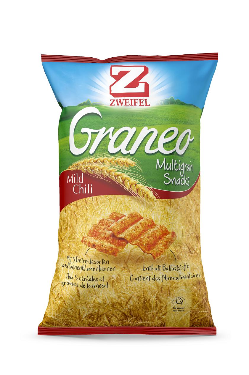Zweifel - Multigrain Snacks Graneo Mild Chili (100 g)