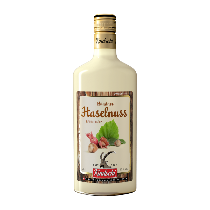 Kindschi - Hazelnut Cream Liqueur (70 CL)