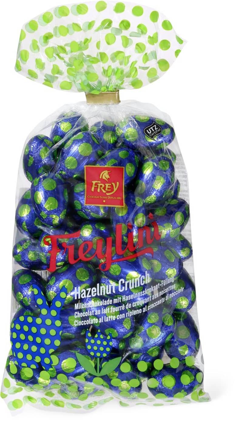 Chocolat Frey - Easter Eggs Hazelnut Crunch (500 G)