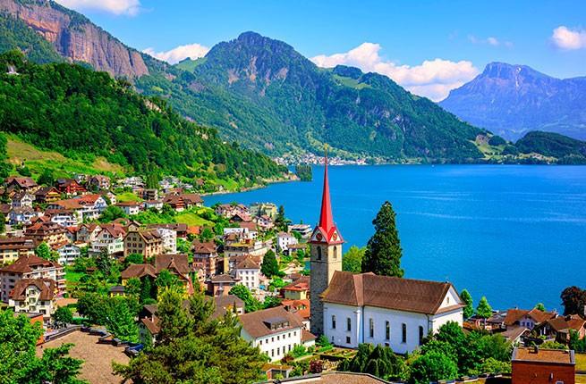 Illustrated Book 'Highlights of Switzerland'