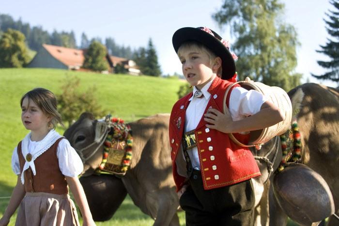 Alpine Club - Key-Chain Edelweiss Swiss Bell