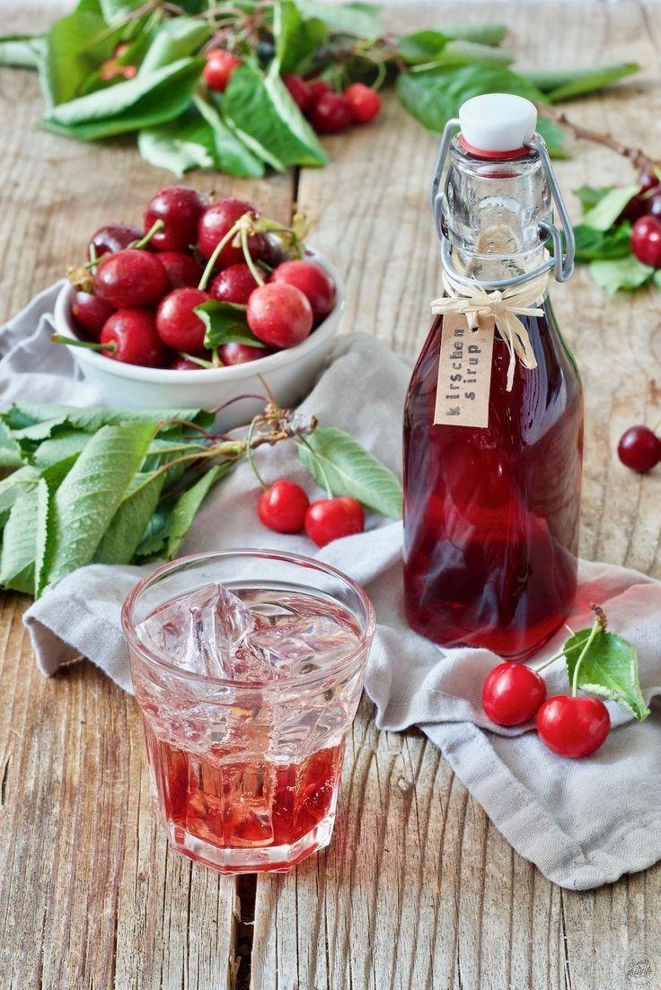 Holderhof - Cherry 'Kirsche' Sirup (70 CL)