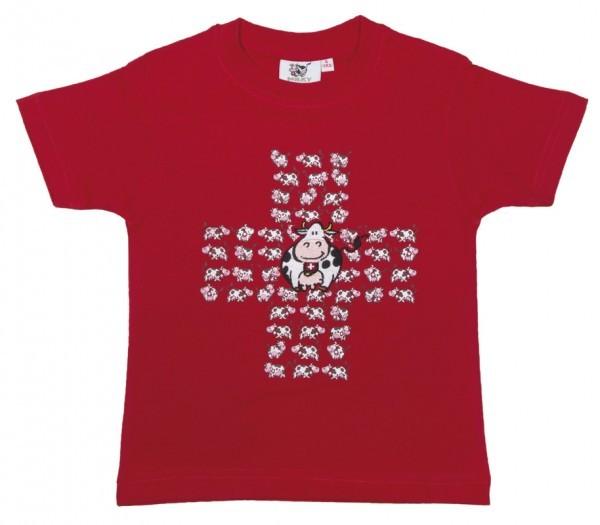Alpine Club - Milky Family Kid's T-Shirt Cross Cows