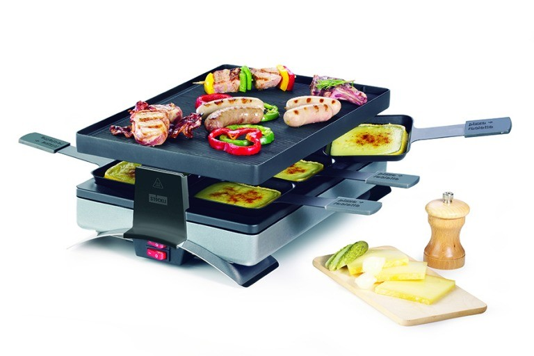 Stöckli - Raclette & 'PizzaGrill Party' (6 persons)