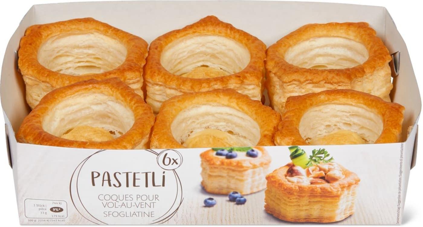 Vol-Au-Vent 'Pastetli' Puff Pastry (198 G)