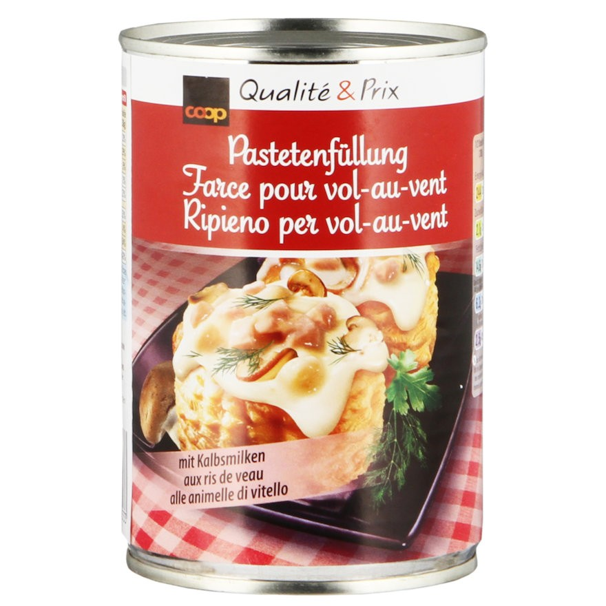Vol-Au-Vent 'Pastetli' Filling (415 g)