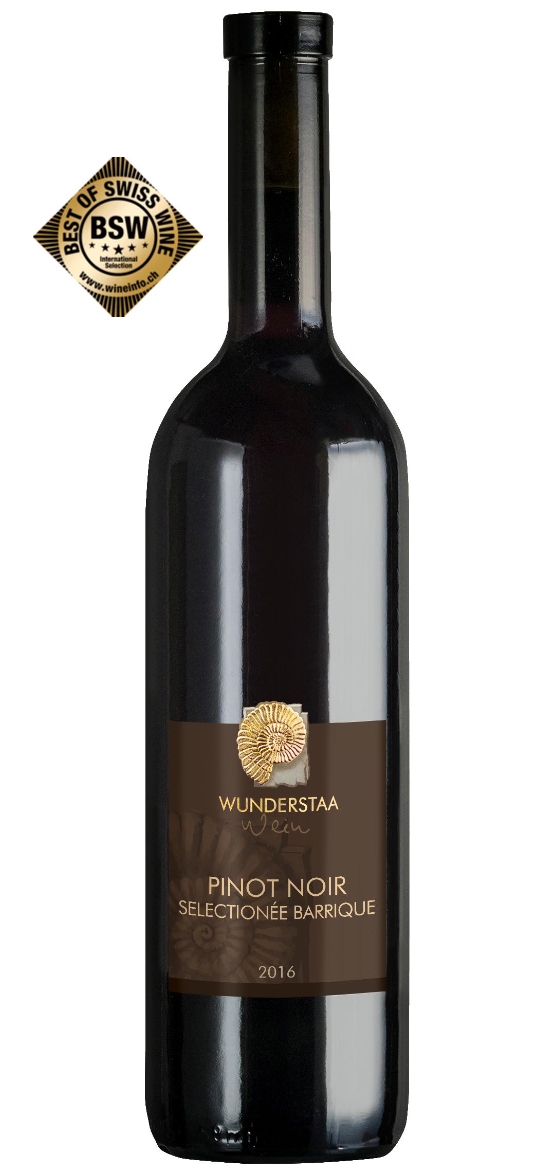 Wunderstaa - Pinot Noir 'Sélectionné Barrique' Red Wine (75 CL)