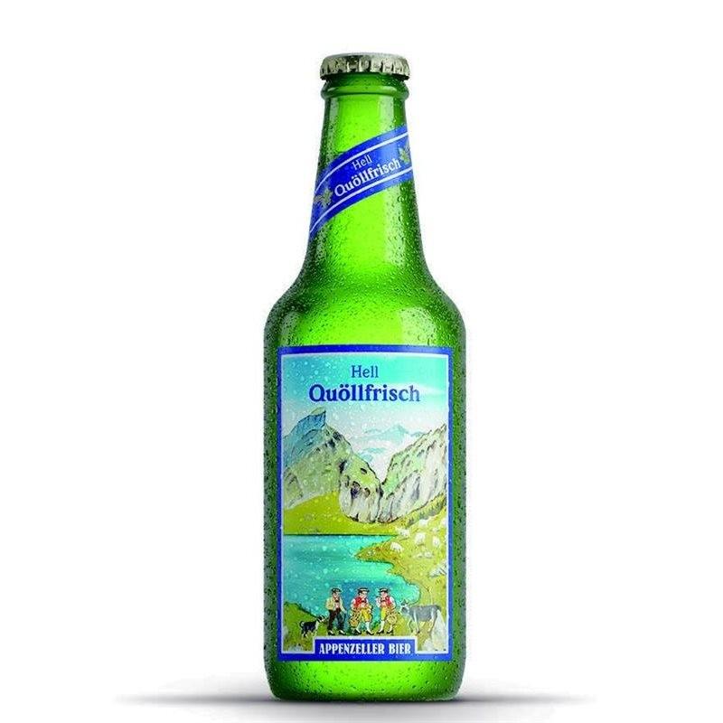 Quöllfrisch - Premium Lager Beer (10 x 33 CL)