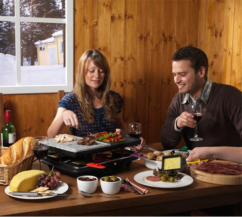 "Raclette / Tischgrill Starter-Set ""Valais"""