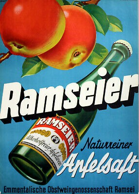 Ramseier – Apple Cider 'Suure Moscht naturtrüeb' 4% Alcohol (6 x 500 ML)