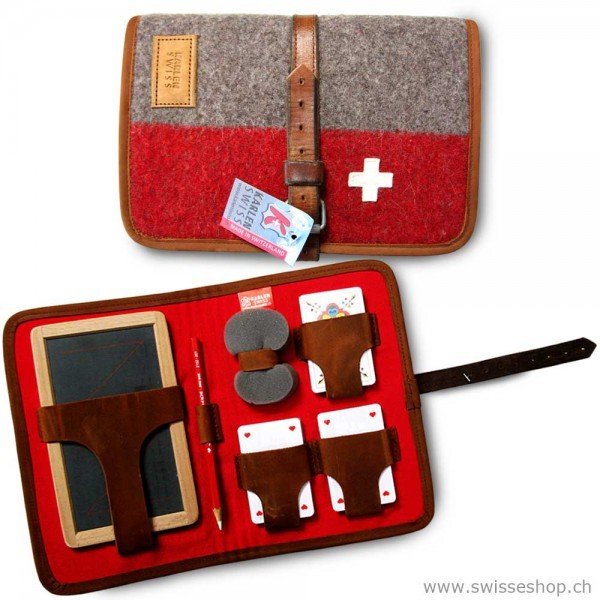 KarlenSwiss - Swiss Army Blanket Jass Set