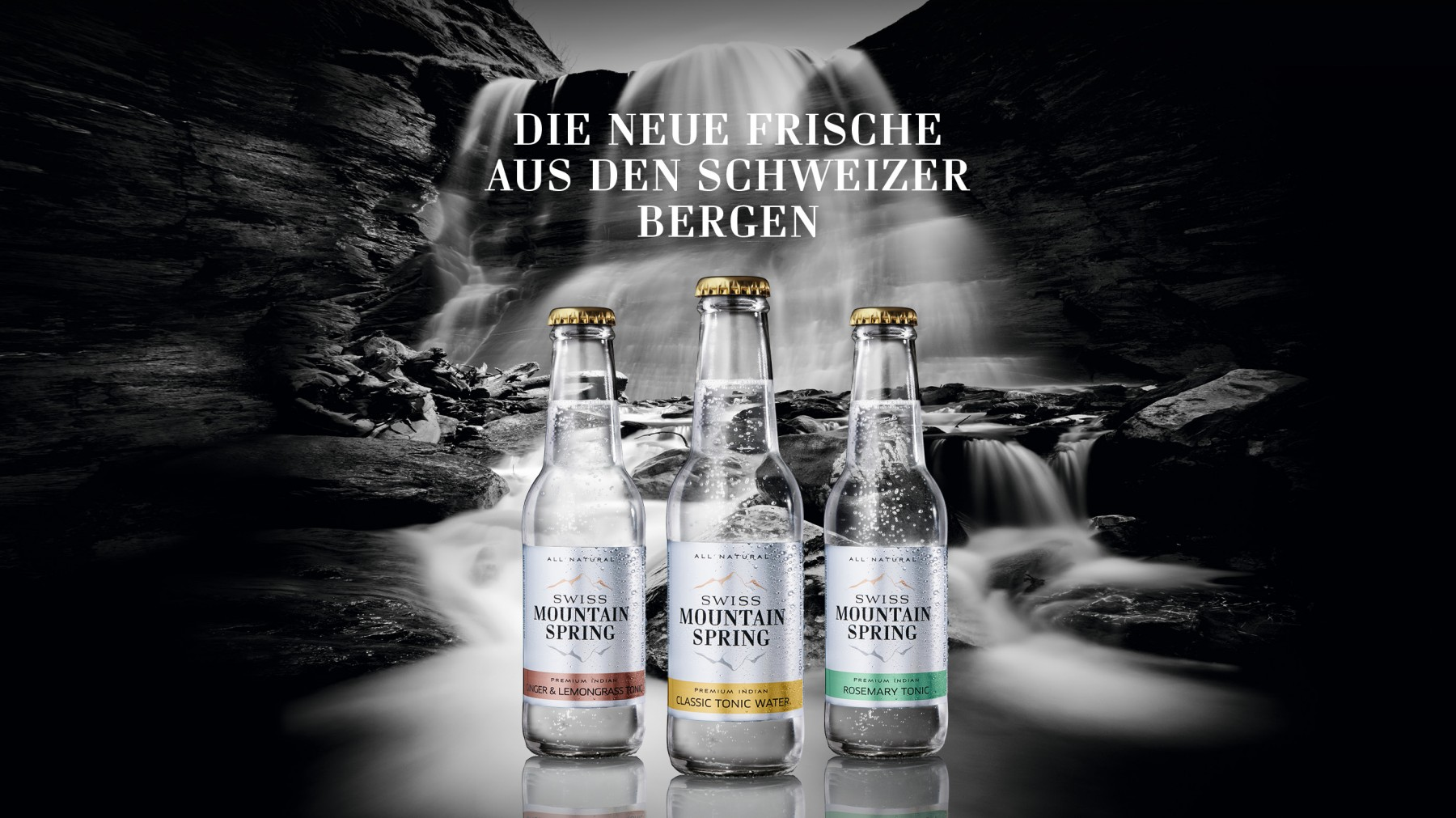 Swiss Mountain Spring - Ginger Ale (4 x 200 ML)