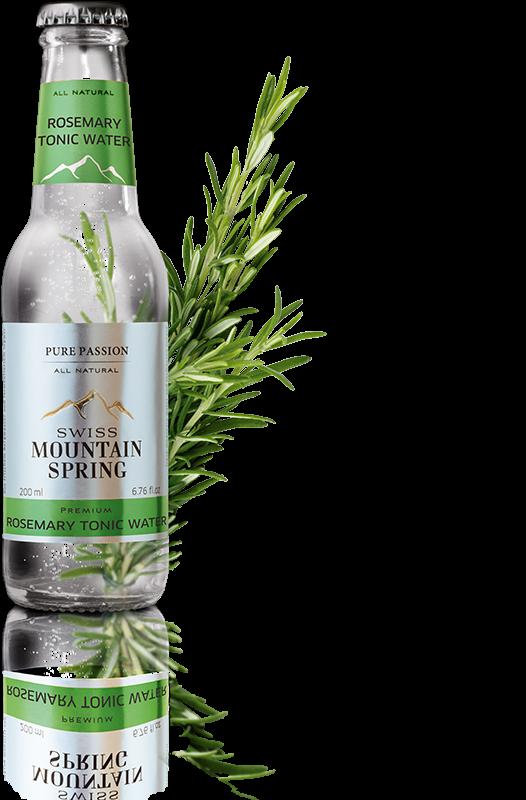 Swiss Mountain Spring - Rosemary Tonic Water (4 x 200 ML)