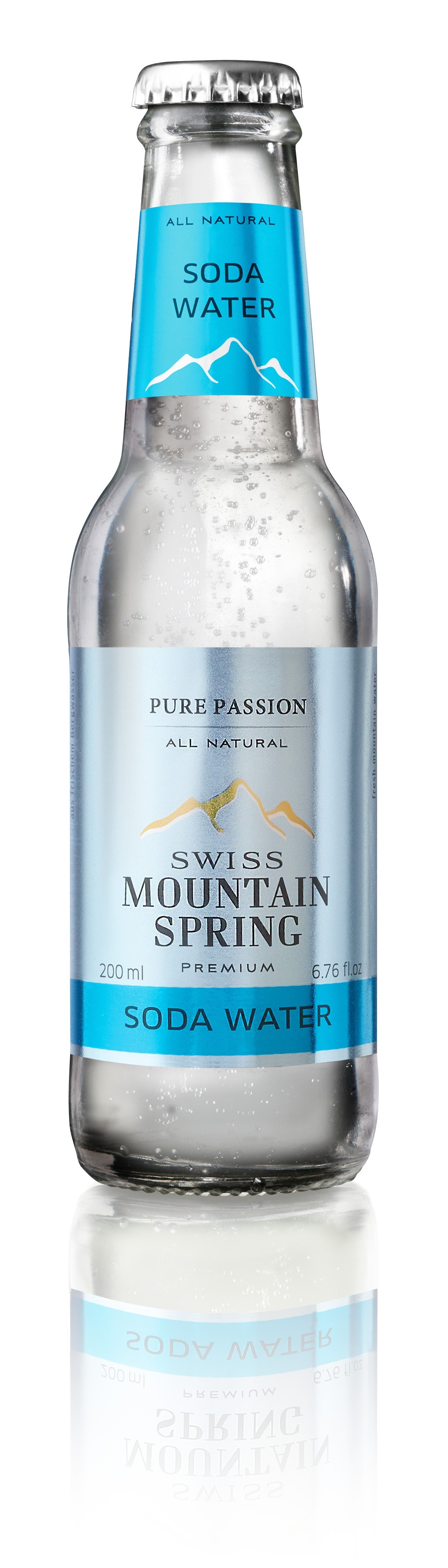 Swiss Mountain Spring - Soda Water (6 x 20 CL)
