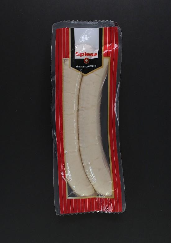 Spiess - St. Galler Veal Bratwurst (2 x 130 g) ***Pre-Order Item***