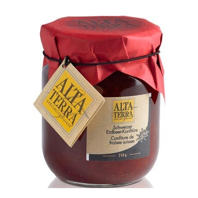 Alta Terra - Swiss 'St. Pierre' Strawberry Jam (250 g)