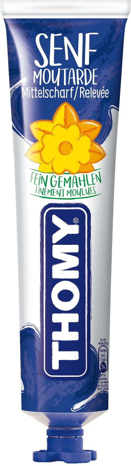 Thomy - Mustard Delikatess Senf Mittelscharf (200 g)