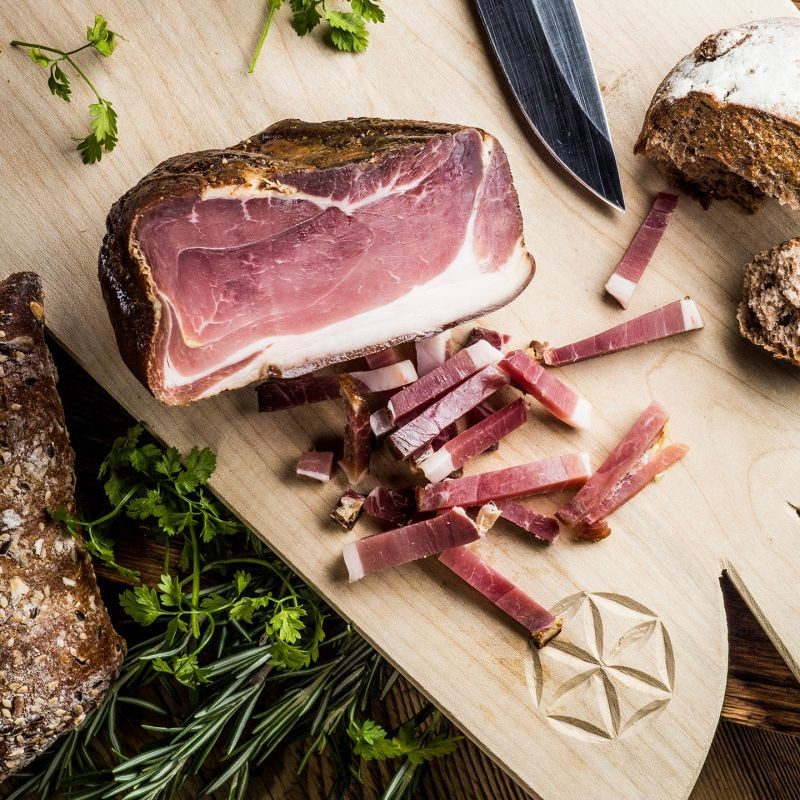Malbuner - 'Kräuterspeck' Herb Bacon (ca. 120 G) ***Pre-Order Item***