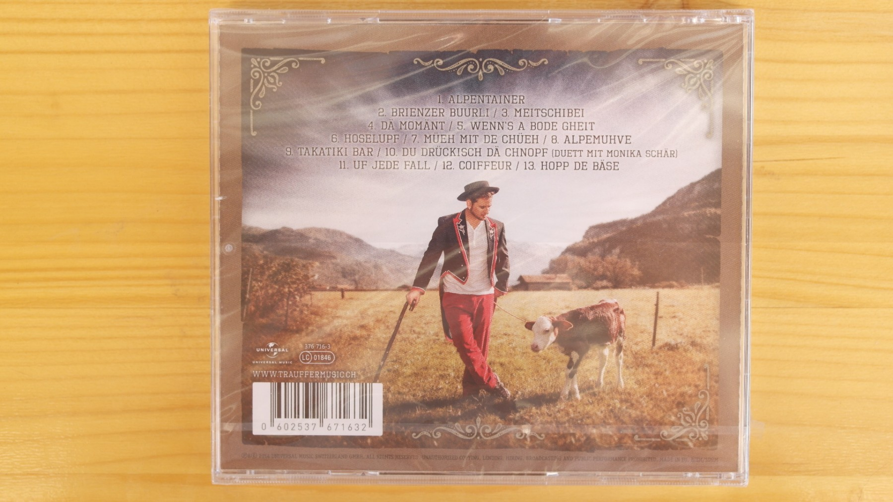Trauffer Musik - Alpentainer Gold Music Award CD