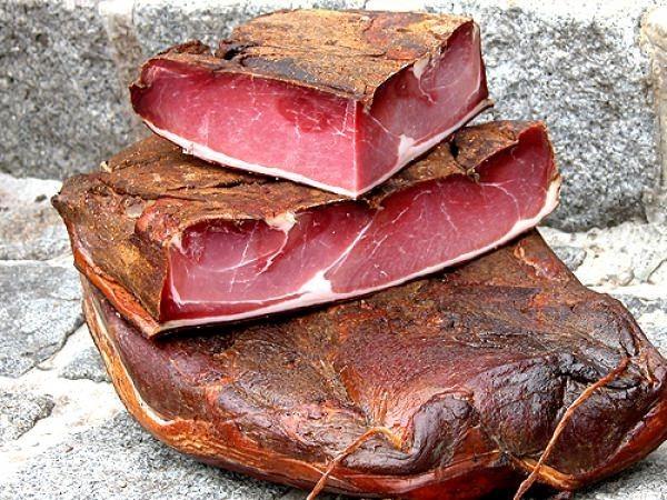 Walliser Berg Rohschinken - Dry-Cured Ham (ca. 80 G) ***On Stock Item***