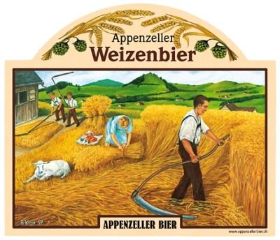 Appenzeller Bier - Organic 'Weizen' Beer (4 x 0.5 L)