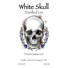Belmont - White Skull Distilled Gin (50 CL)