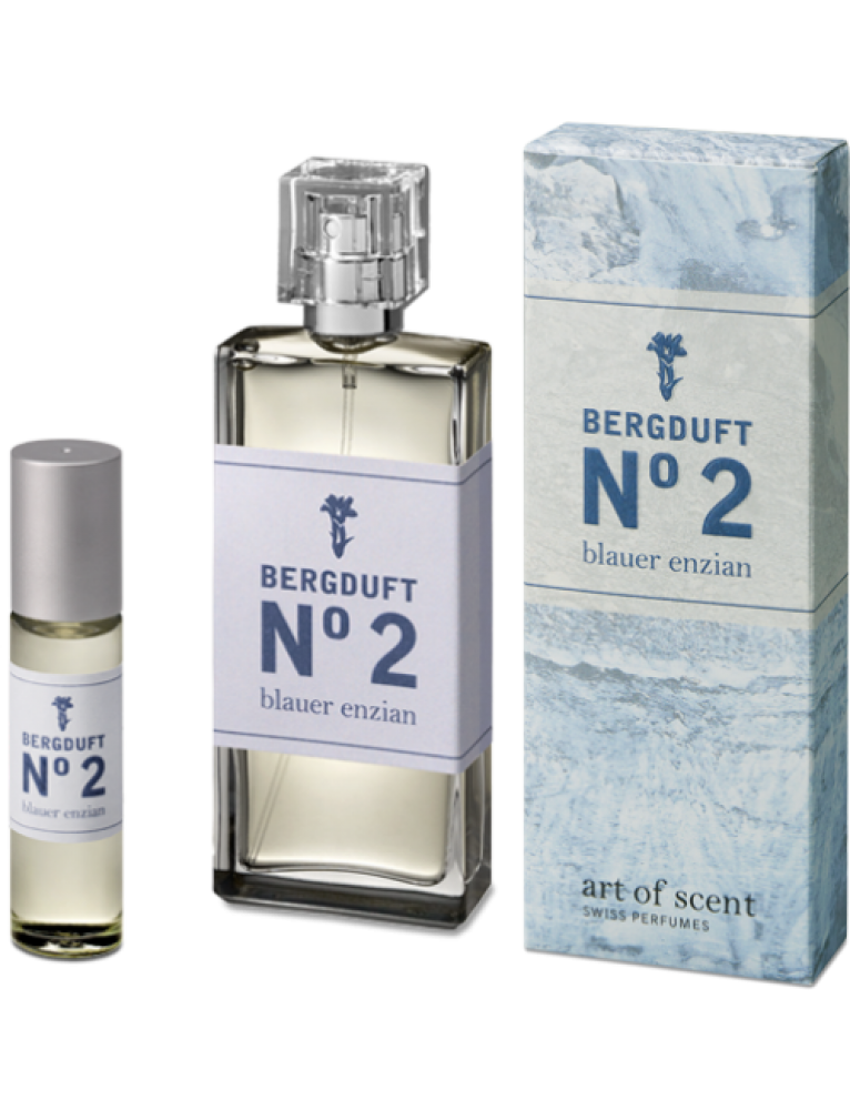 art of scent - Bergduft No2. Blauer Enzian Atomizer (50 ML)
