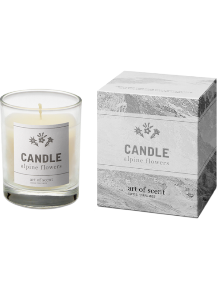 art of scent - Scented Candle Alpine Flowers