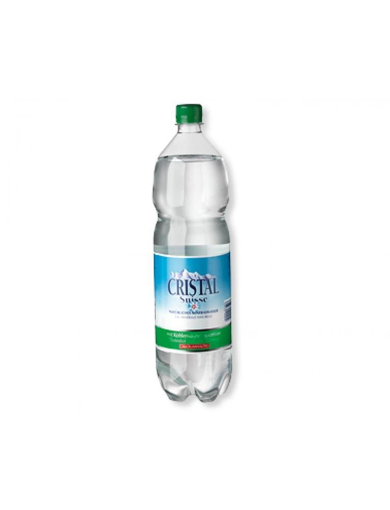 Adelbodner - Swiss Cristal Sparkling Mineral Water (6 x 1.5 l)