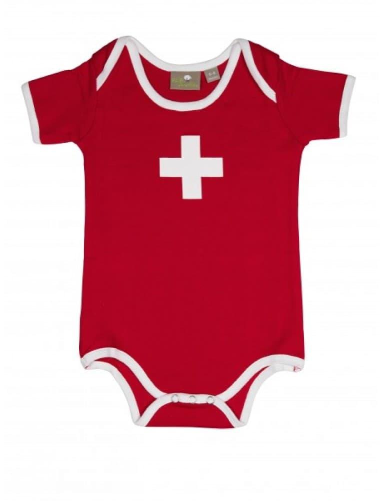 Alpine Club - Edelweiss Baby Body Fair Well Bio Swiss Cross