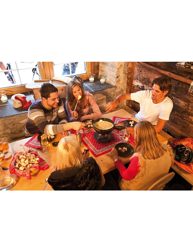 "Cheese Fondue Starter-Set ""Ascent to the Mountain"""