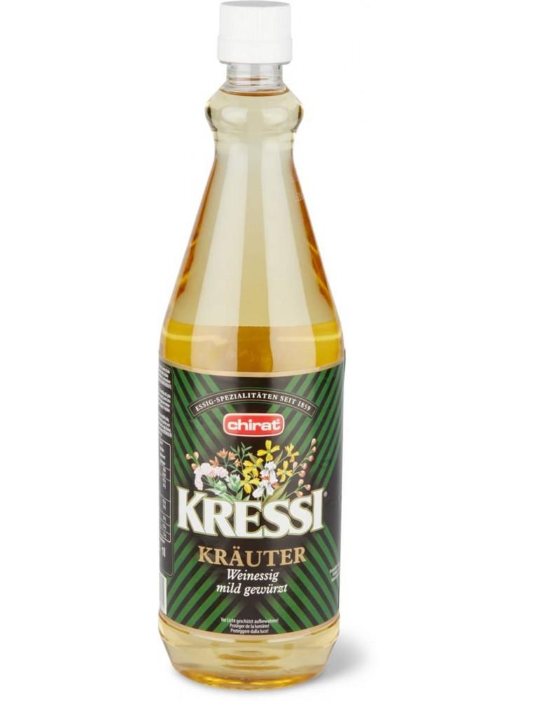 Chirat - 'Kressi' Kräuter Essig Vinegar (1 L)