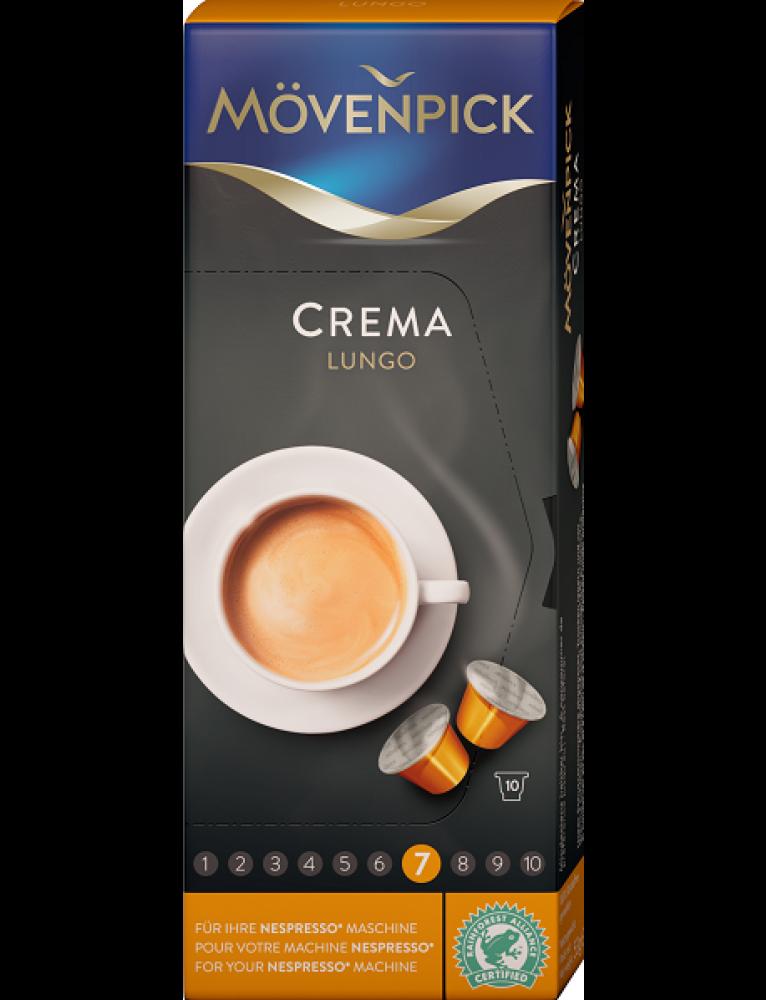 """Mövenpick - Lungo Capsules """"Crema"""" (10 Capsules)"""