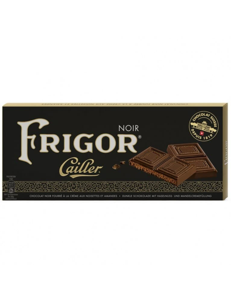 Cailler - Frigor Noir Chocolate Bar (100 g)