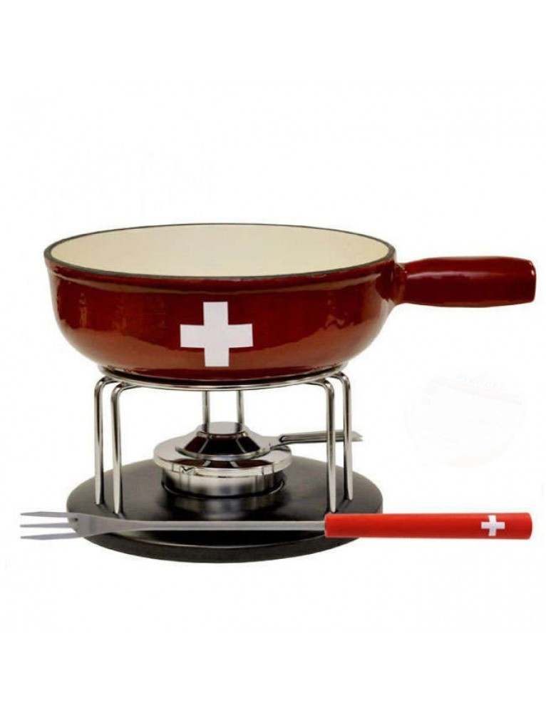"Heidi Cheese Line - Fondue Set ""Swiss"""