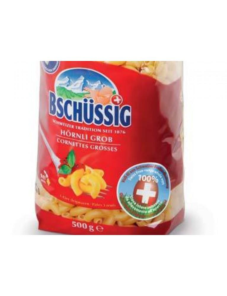 Bschüssig - Elbow Semolina Pasta 'Hörnli Grob' (500 g)