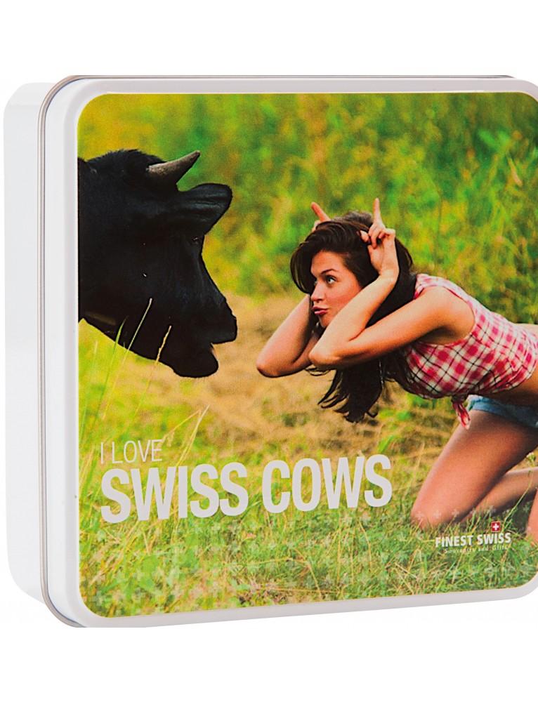 Trauffer - Swiss Red Cow in Metal Case